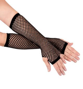 Long Fishnet Gloves - Style No C26992