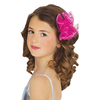 Mesh & Sequin Hair Clip - Style No C28272x