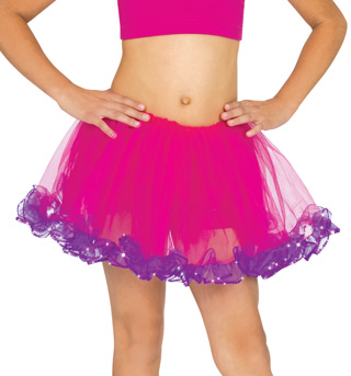 Child Sequin Trim Tutu - Style No C28306x