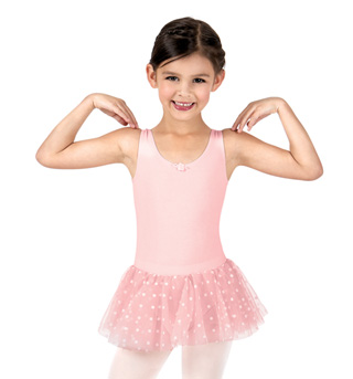 Girls Polka Dot Tank Tutu Dress - Style No C28480