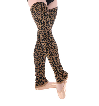Adult Cheetah Print Legwarmers - Style No C306