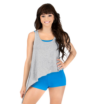 Adult Asymmetrical Tank Top - Style No C4076