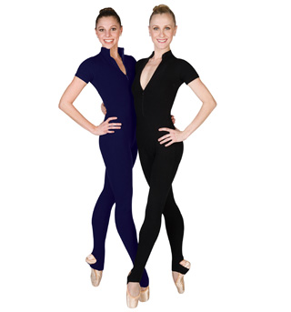 Adult Short Sleeve Unitard - Style No C810C