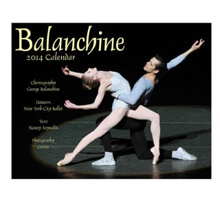 Balanchine 2014 Wall Calendar - Style No CAL11