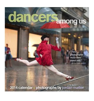 Jordan Matter Dancers Among Us 2014 Wall Calendar - Style No CAL12