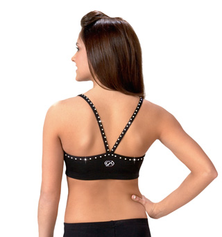 Adult Strappy V-Back Crop Top - Style No CB103