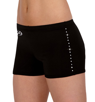 Adult Short with Clear Crystals  - Style No CB502