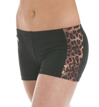 Child Animal Trim Booty Shorts - Style No CB505C