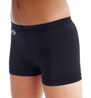 Child Nylon Cheer Shorts  - Style No CB507C