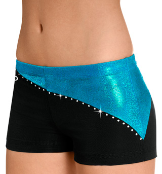 "Child ""Seaglass"" 2-Tone Cheer Short - Style No CB532C"