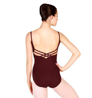 Adult Camisole Leotard with Multi-Strap Back - Style No CC102