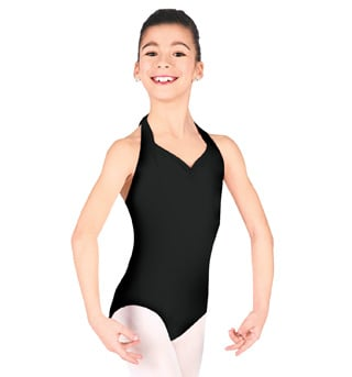 Child Halter Leotard with Princess Seams - Style No CC300C