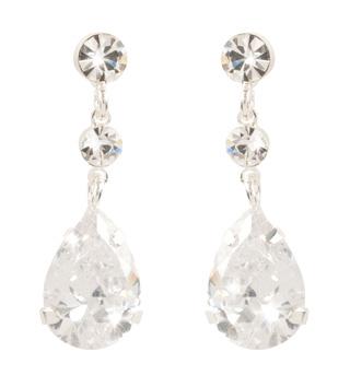 Crystal Drop Earrings - Style No CDE