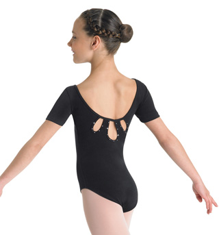Child Short Sleeve Leotard - Style No CL3762