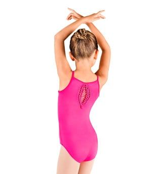 Child Spliced Racer Back Camisole Leotard - Style No CL7397