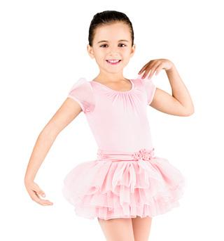 Child Cap Sleeve Tutu Dress - Style No CL8062