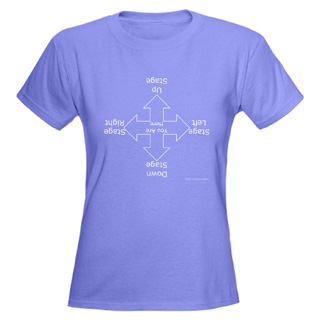Women Stage Directions V-Neck T-Shirt - Style No CP534