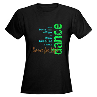 Women Dance for Life T-Shirt - Style No CP759