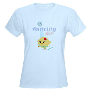 Women Dancing Chick T-Shirt - Style No CP769