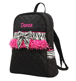 Zebra Trim Backpack - Style No CPK02