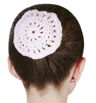 Crocheted Bun Cover - Style No D2122