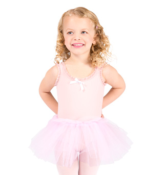 Child Tank Tutu Dress - Style No D3358