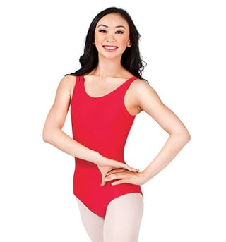 Adult Scoop Tank Leotard - Style No D5101