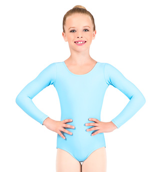 Child Long Sleeve Dance Leotard - Style No D5103C