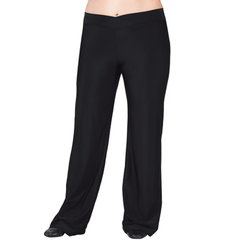 Adult Plus Size V-Front Jazz Pants - Style No D5107W