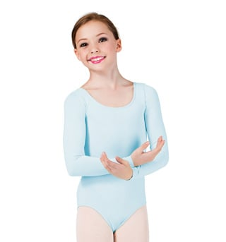 Child Long Sleeve Leotard - Style No D6600