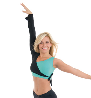 Adult One Sleeve Dance Wrap Top - Style No DB419