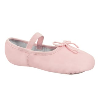 Child Beginner Full Sole Ballet Slipper - Style No DCB100