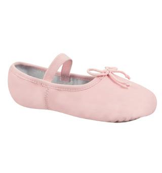 Child Beginner Full Sole Ballet Slipper - Style No DCB100