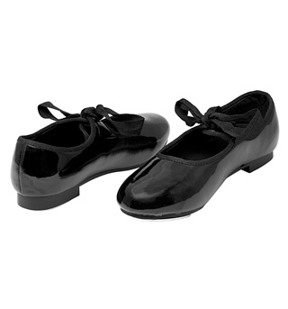 Child Ribbon Tie Tap Shoe - Style No DCT101