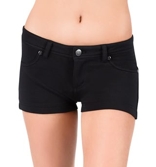 Adult Colored Stretch Shorts - Style No DNP178