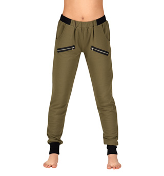 Adult Contrast Waist Jogger Pants - Style No DS819
