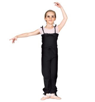Girls Fleece Overalls - Style No EF113F