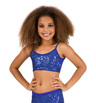 Child Royal Sequin Camisole Bra Top - Style No FD0172C