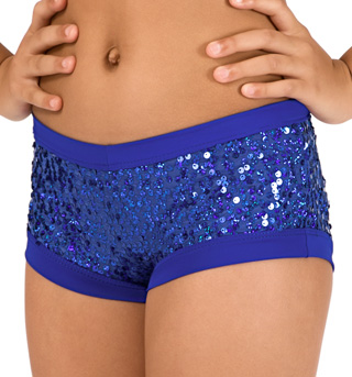 Child Royal Sequin Dance Short - Style No FD0179C