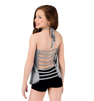 Girls Halter Strappy Back Top - Style No FD0188C