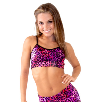 Leopard Camisole Bra Top - Style No FD0200