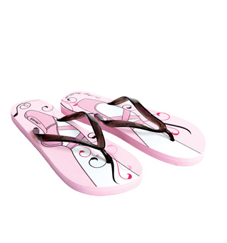 Adult Pointe Shoe Flip Flop Sandal - Style No FFS03