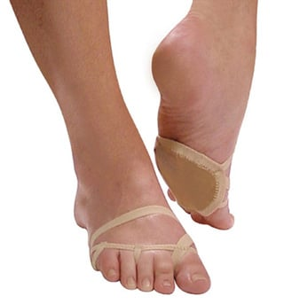 Adult Lyrical Half Sole Foot Thong - Style No FT100