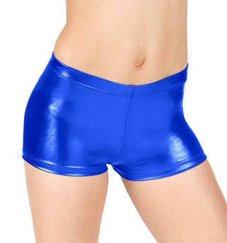 Girls Metallic Shorts - Style No G153C