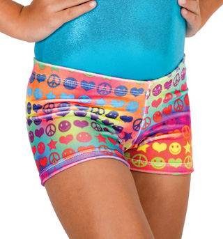 Child Groovy Dance Shorts - Style No G527C