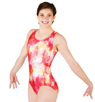 Adult Gymnastic Two-Tone Leotard - Style No G530