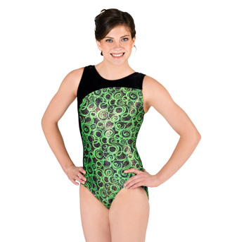 Adult Gymnastic Boat Neck Leotard - Style No G536