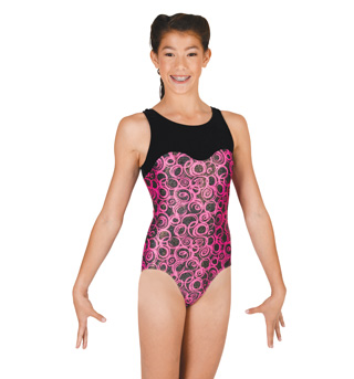 Adult Gymnastic Scooped Neck Leotard - Style No G537x