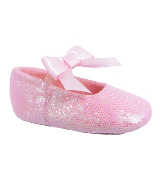 Glitter Baby Ballet Shoes - Style No GL399