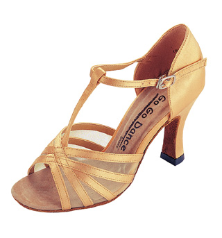 Ladies Latin/Rhythm Ballroom Shoes - Style No GO406